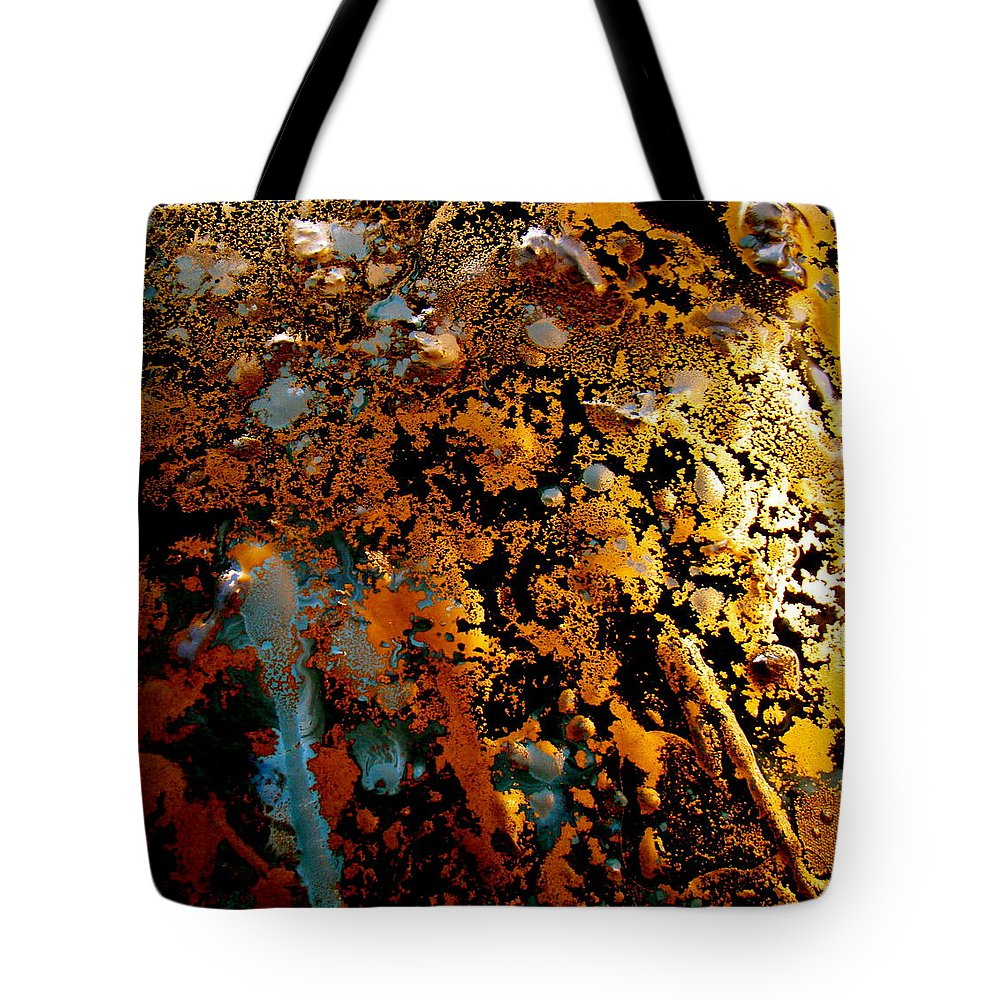 Abstract Tote Bag featuring the photograph Abstract Play 04 by Alice Schwager