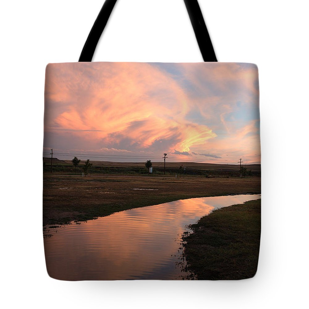 Clouds Tote Bag featuring the photograph After The Storm by Jerry McElroy