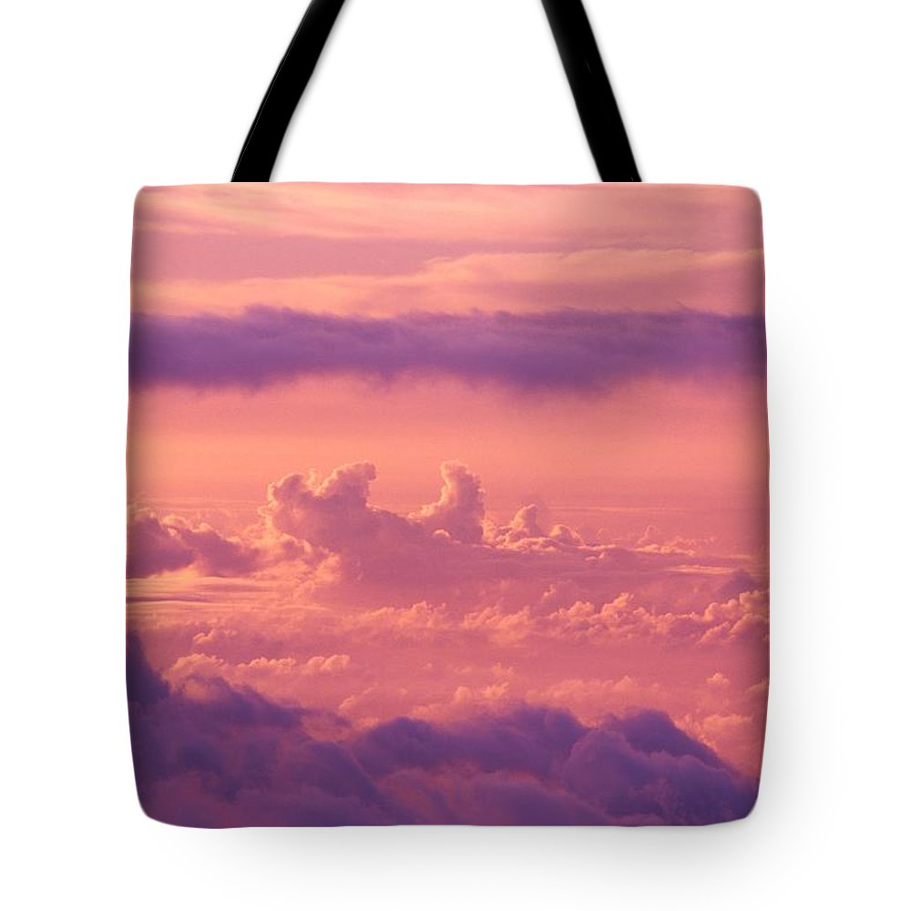 Air Art Tote Bag featuring the photograph Afternoon On Haleakala by Ron Dahlquist - Printscapes