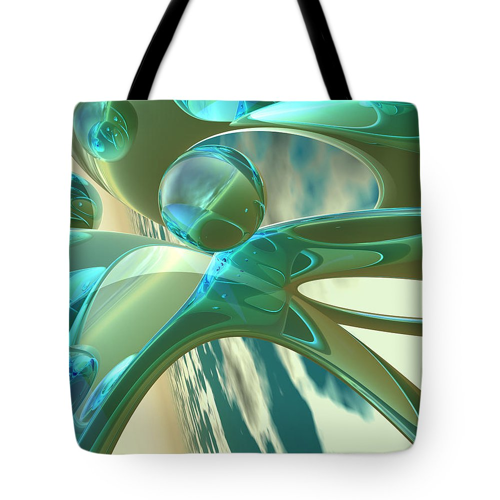 Scott Piers Tote Bag featuring the painting Ashton by Scott Piers