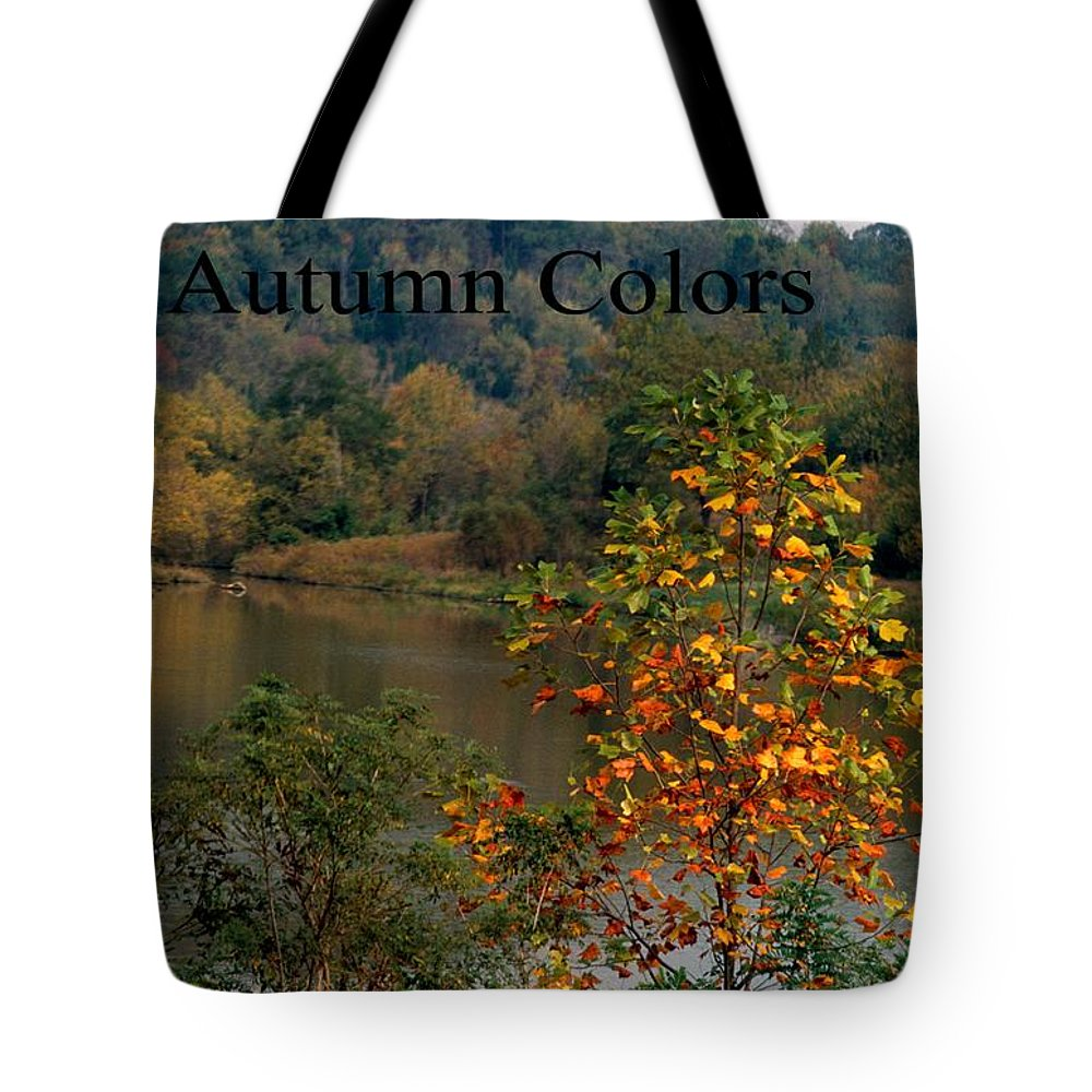 Autumn Tote Bag featuring the photograph Autumn Colors by Gary Wonning