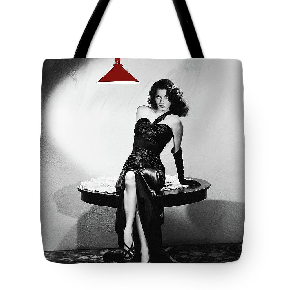 Ava Gardner Film Noir Classic The Killers 1946-2015 Tote Bag featuring the photograph Ava Gardner Film Noir Classic The Killers 1946-2015 by David Lee Guss