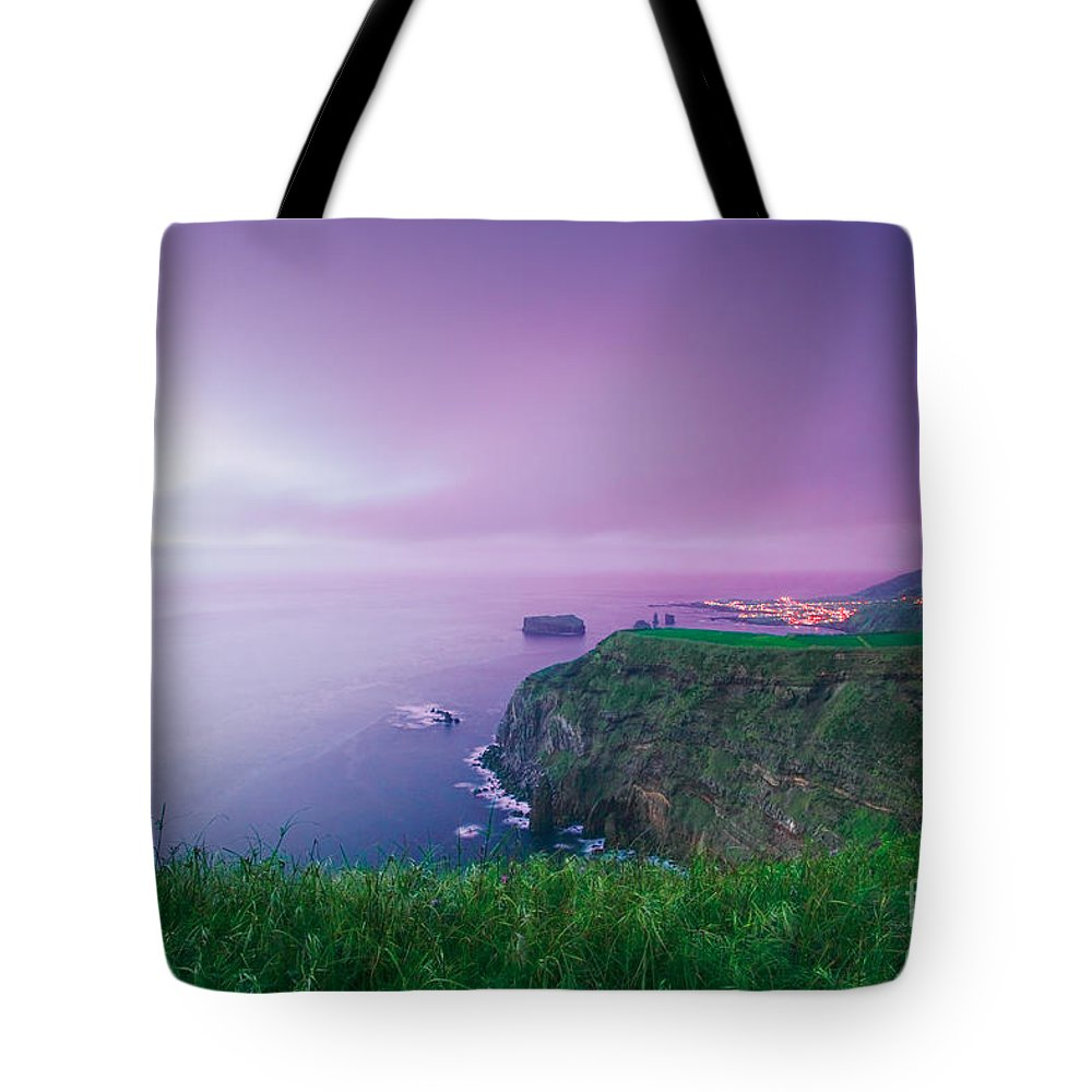 Azoren Tote Bag featuring the photograph Azores Coastal Landscape by Gaspar Avila