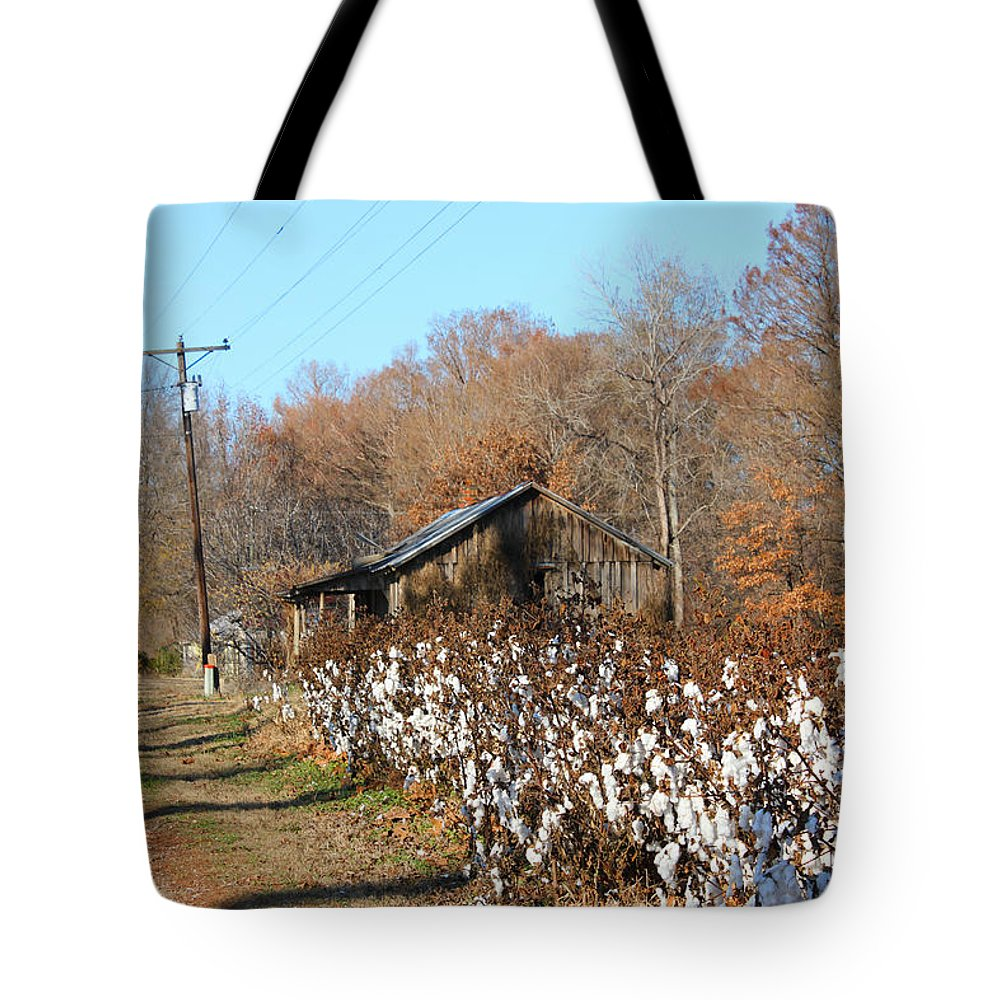 House Tote Bag featuring the photograph Back Roads Of Ms by Karen Wagner