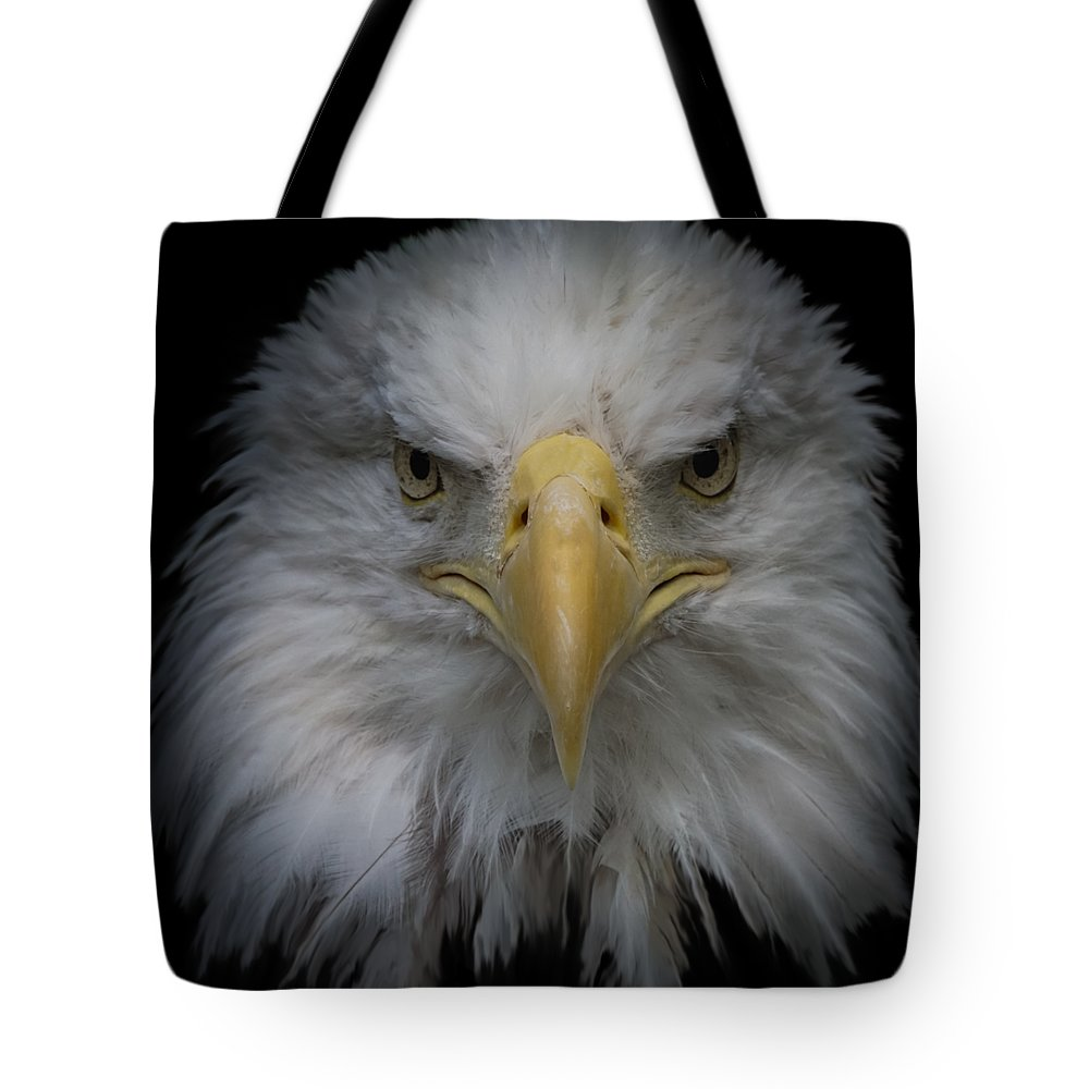 Animal Tote Bag featuring the photograph Bald Eagle by Ernie Echols