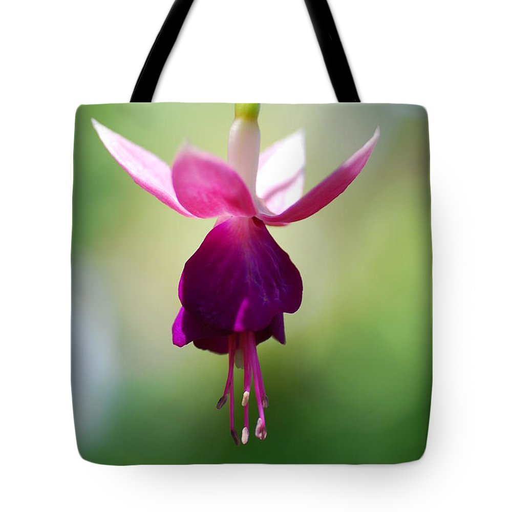 Macro Tote Bag featuring the photograph Ballerina by Catherine Lau