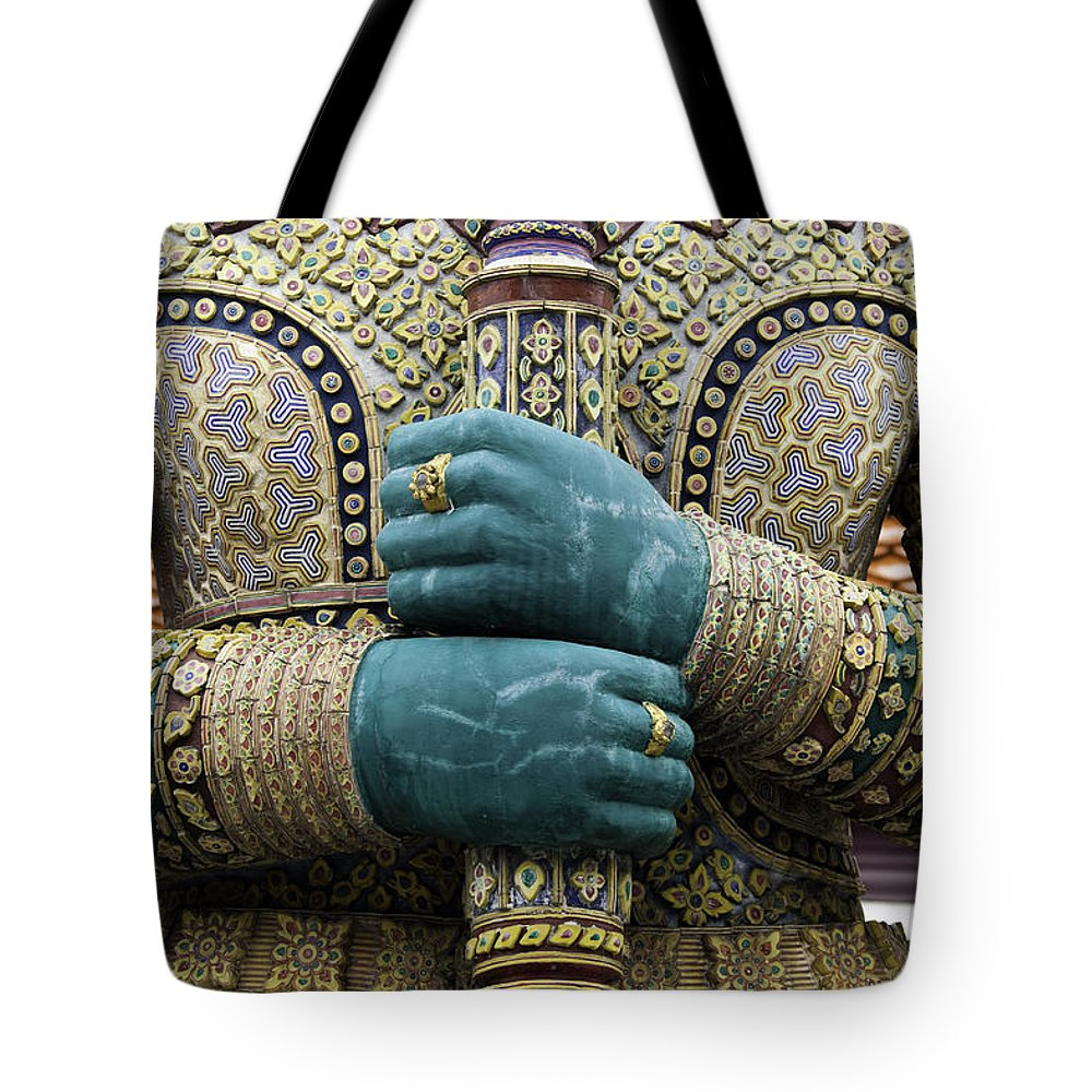 Artifact Tote Bag featuring the photograph Bangkok Thailand by Anthony Totah