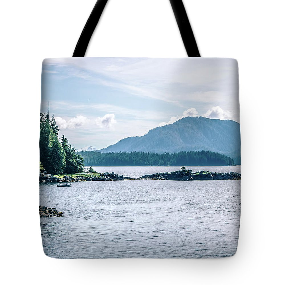 Mountains Tote Bag featuring the photograph Beautiful Landscape In Alaska Mountains by Alex Grichenko