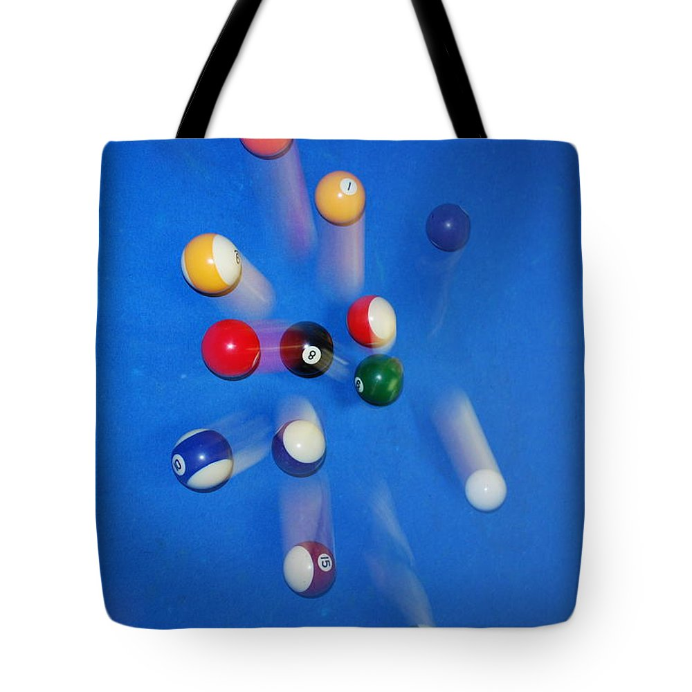 Flowers Tote Bag featuring the photograph Big Blue by Donna Shahan
