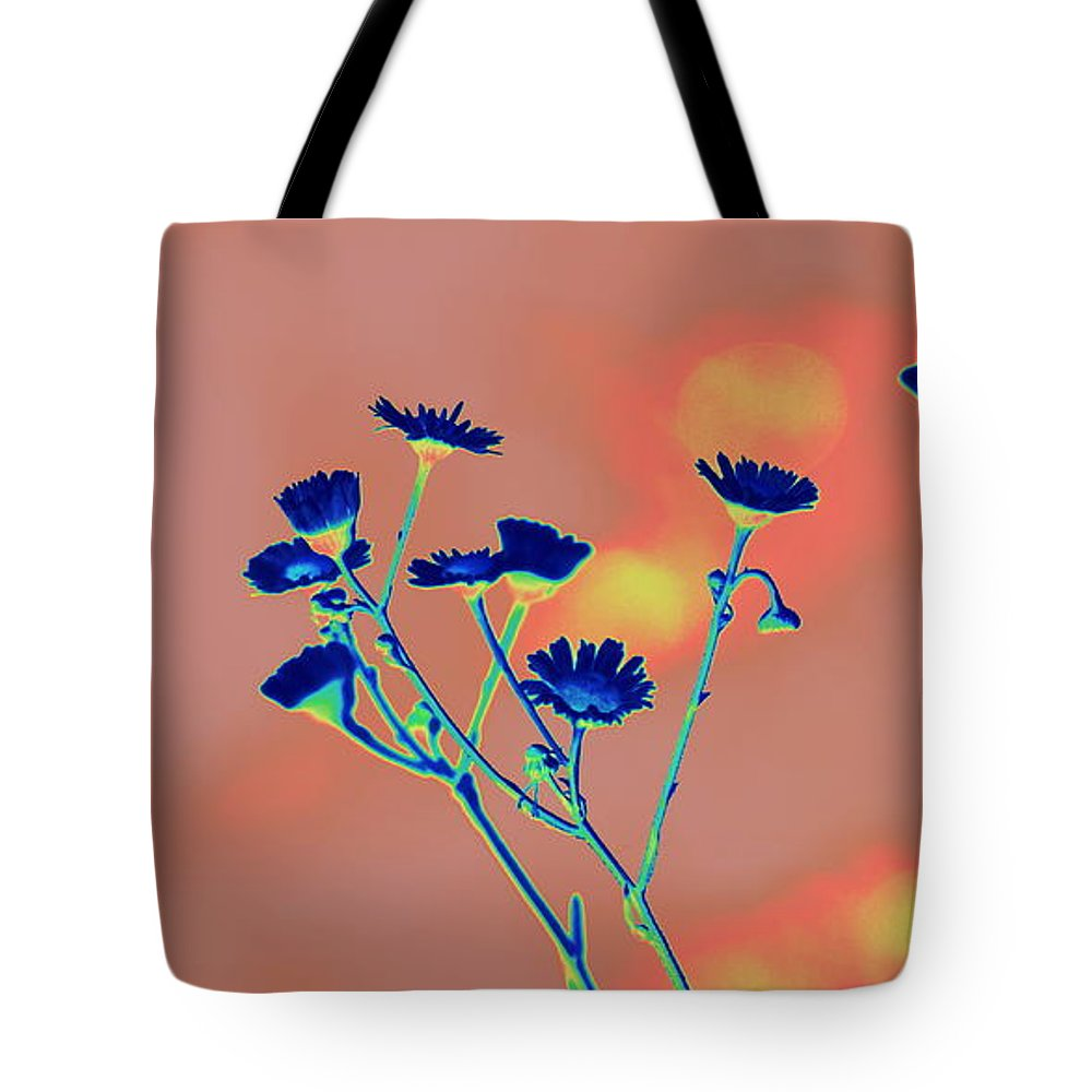 Blue Tote Bag featuring the photograph Blue Mood by Anita Goel