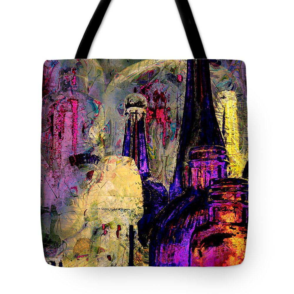 Bottles Tote Bag featuring the photograph Bottles by Lori Seaman