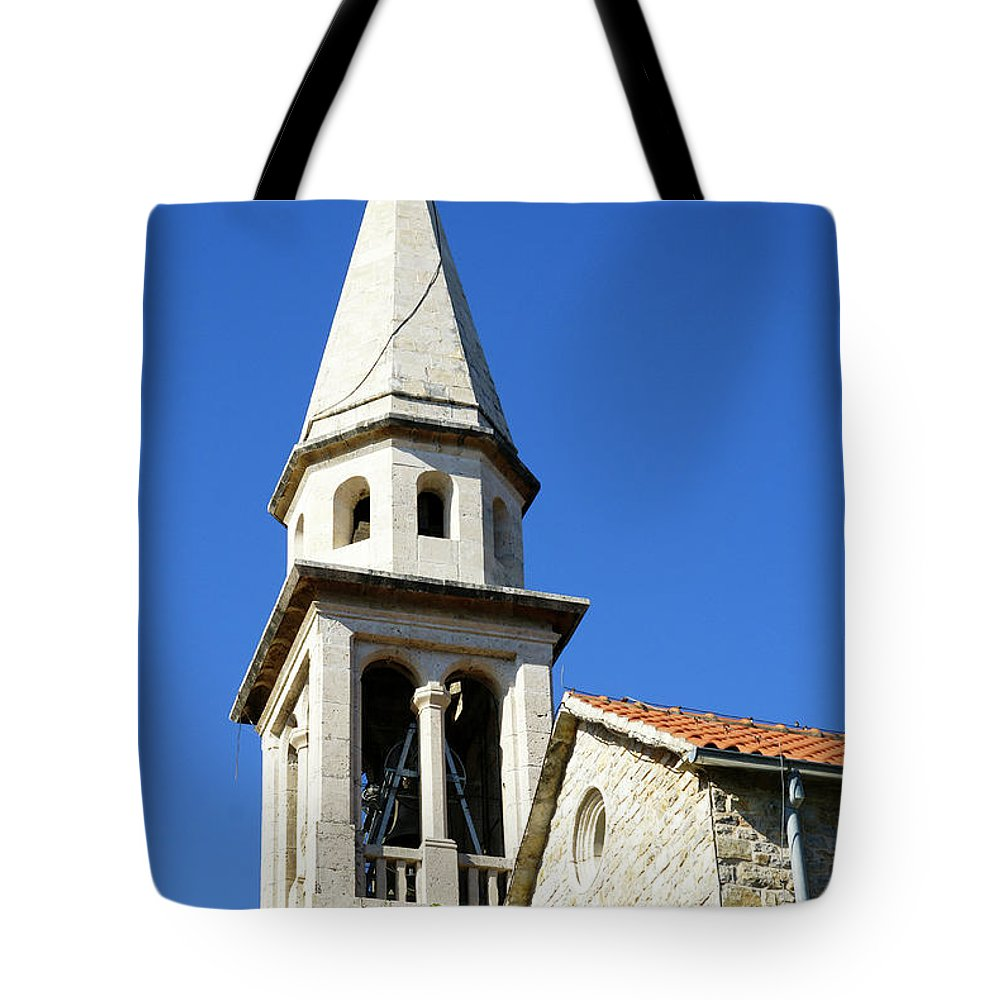 Travel Tote Bag featuring the photograph Budva, Montenegro by Ruth Hofshi
