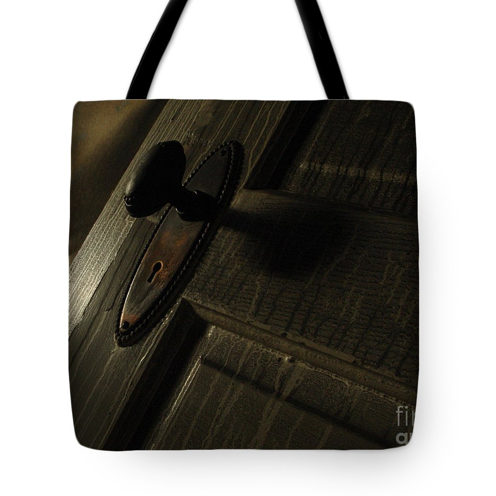 Ghostly Tote Bag featuring the photograph Burned Knob 02 by Peter Piatt