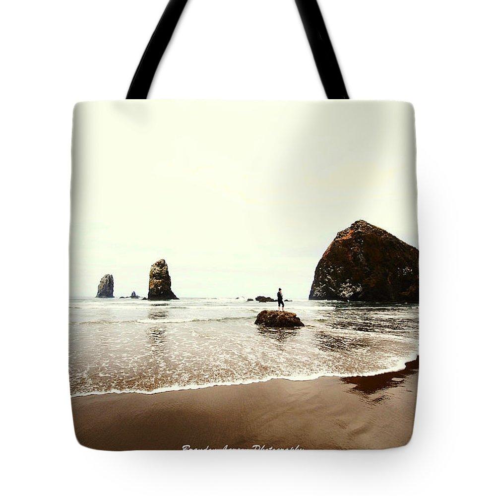 Tote Bag featuring the photograph Canon Beach by Brandon Larson