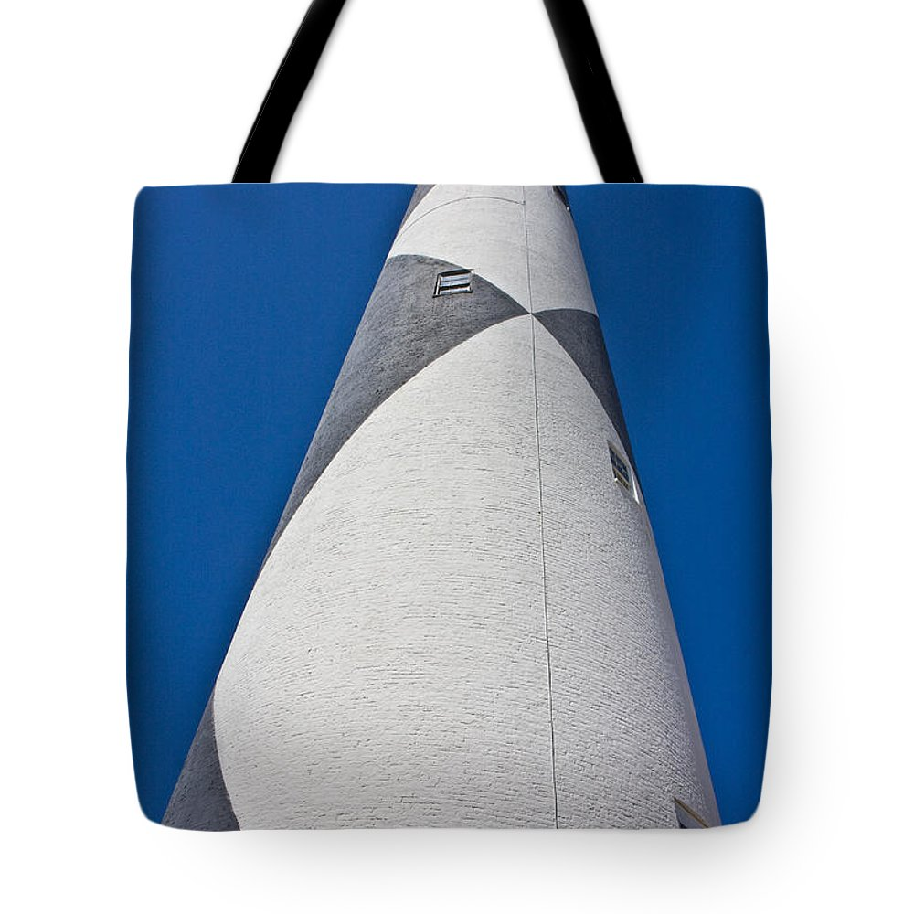 Harkers Island Tote Bag featuring the photograph Cape Lookout 4 by Betsy Knapp