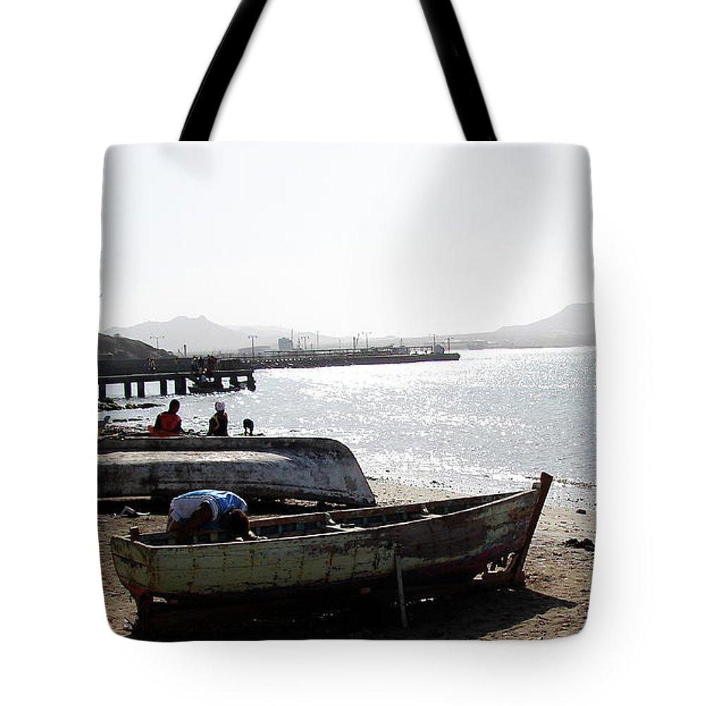 Cape Verde Tote Bag featuring the photograph Cape Verde by Brett Winn