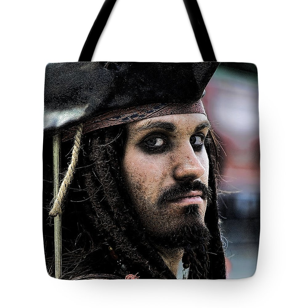 Pirates Tote Bag featuring the photograph Captain Jack by David Patterson