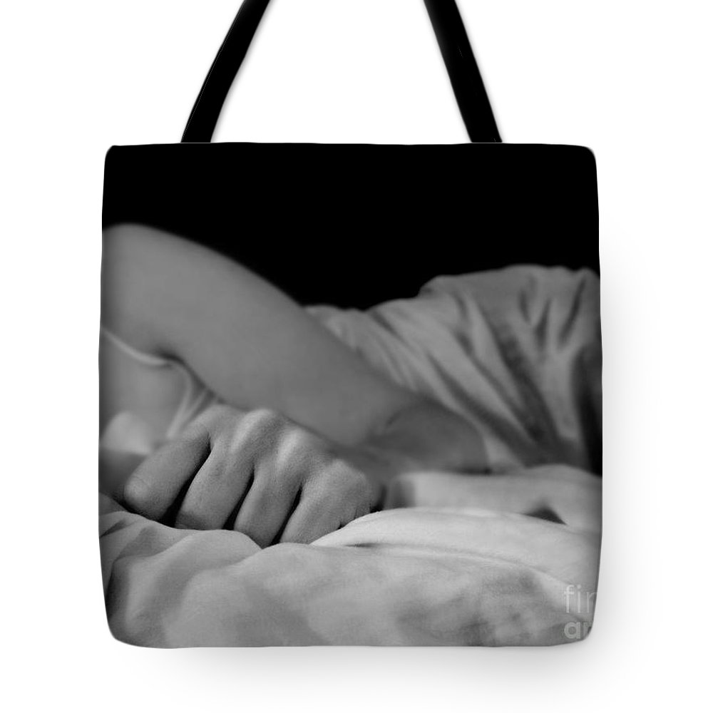 Dipasquale Tote Bag featuring the photograph Cast Me Gently Into Morning For The Night Has Been Unkind by Dana DiPasquale