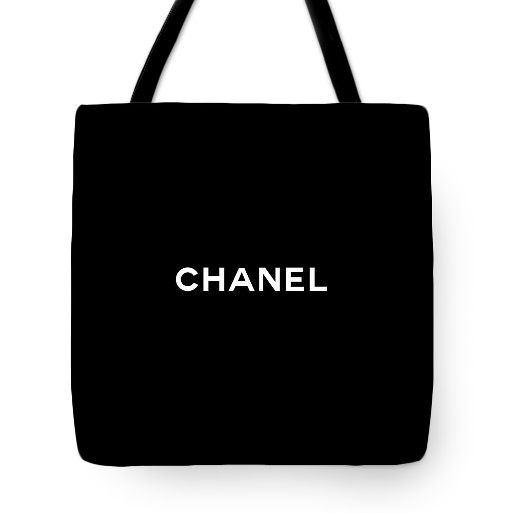Chanel Tote Bag featuring the digital art Chanel by Tres Chic