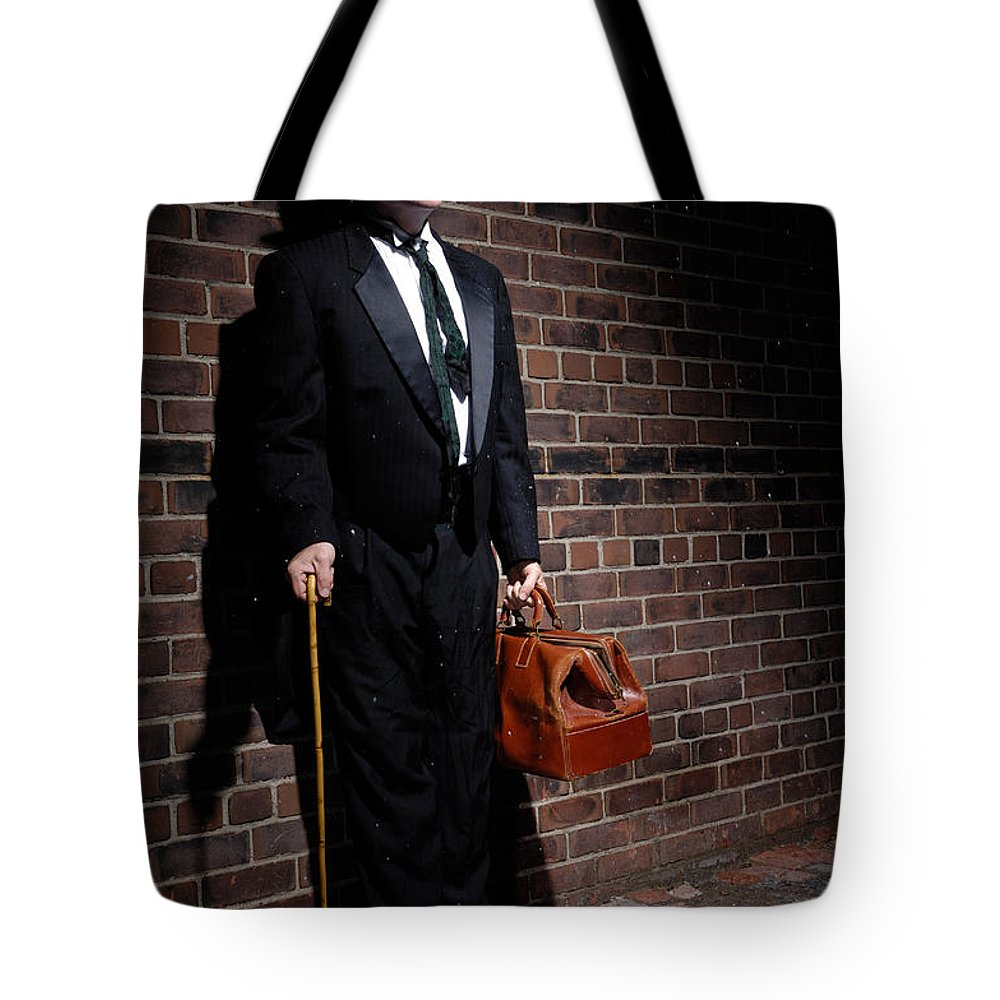 Charlie Chaplin Tote Bag featuring the photograph Charlie Chaplin by Oleksiy Maksymenko