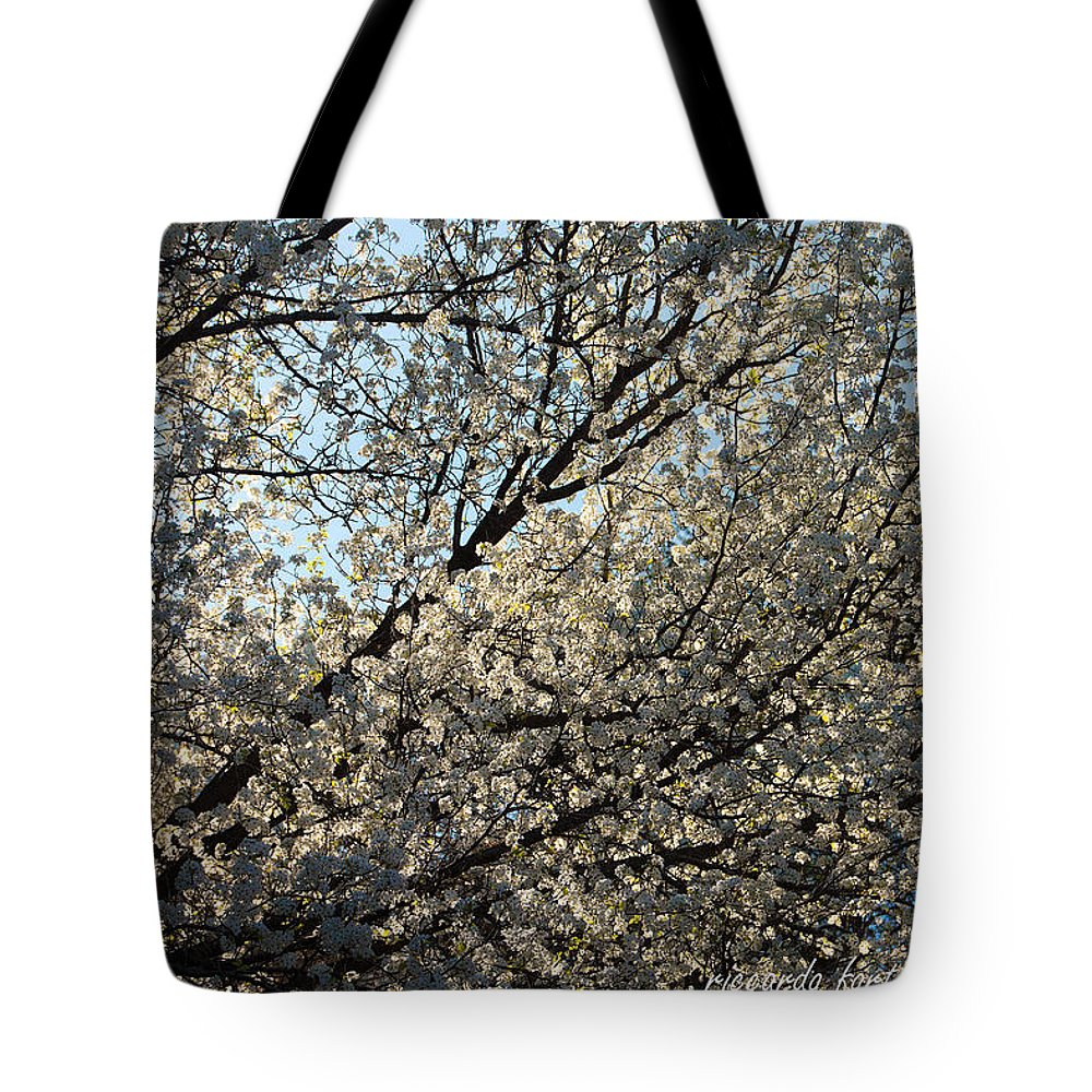America Tote Bag featuring the photograph Cherry Blossom by Riccardo Forte
