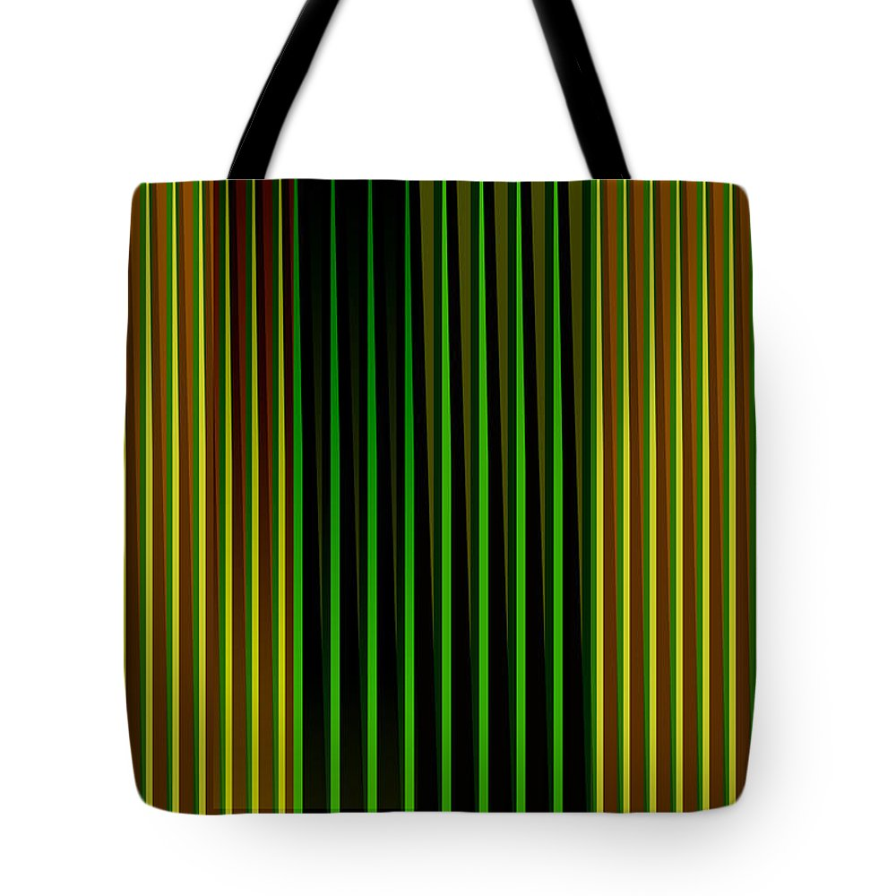 Cinetic Tote Bag featuring the digital art Cinetic Art by Galeria Trompiz