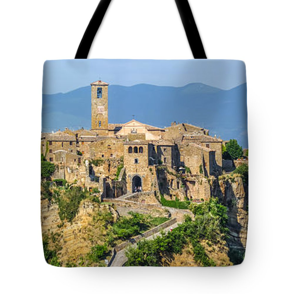 Ancient Tote Bag featuring the photograph Civita Di Bagnoregio, Lazio, Italy by JR Photography