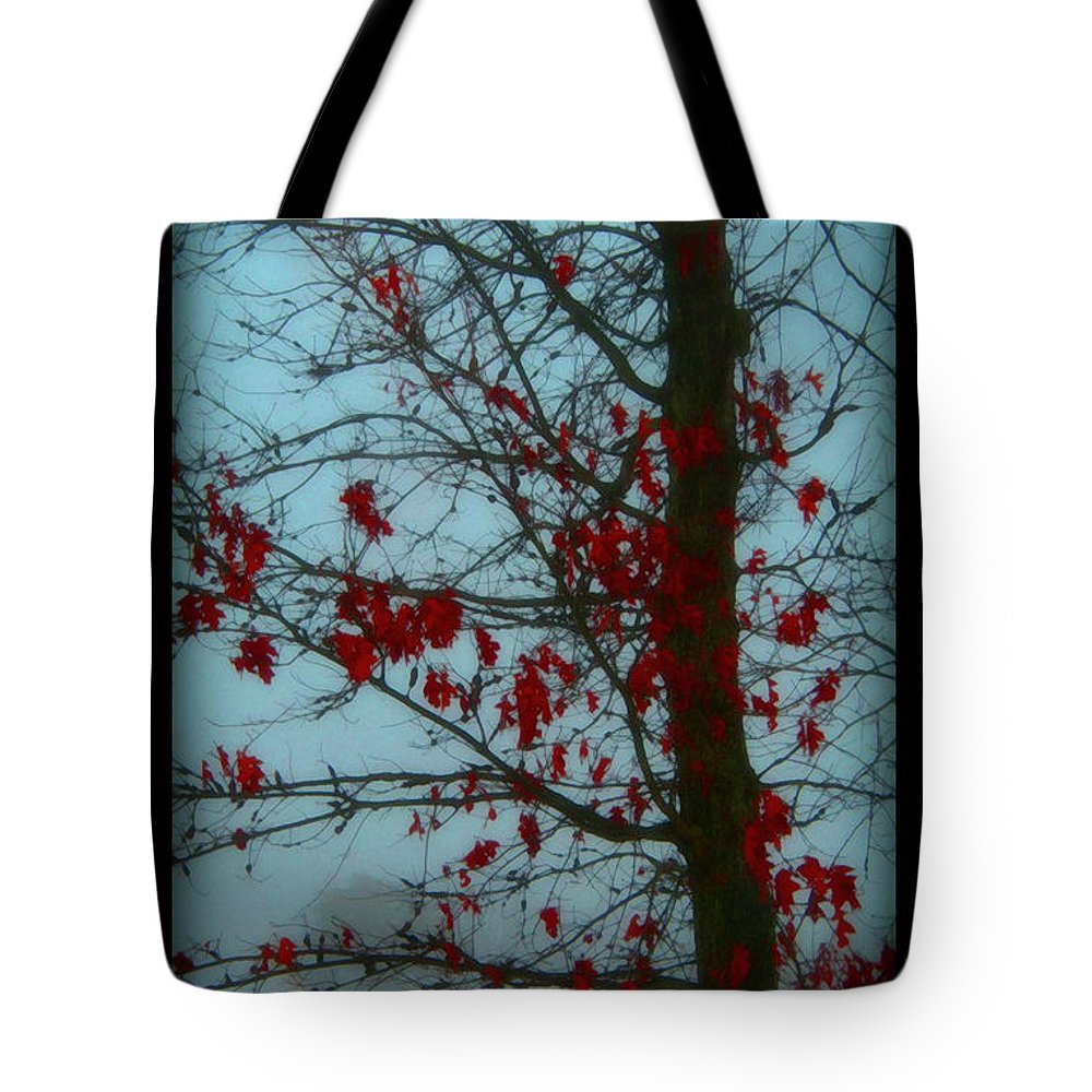 Tree Winter Nature Tote Bag featuring the photograph Cold Day In Winter by Linda Sannuti