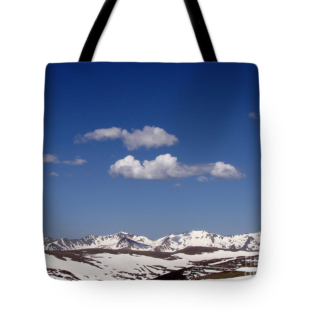 Mountains Tote Bag featuring the photograph Colorado by Amanda Barcon