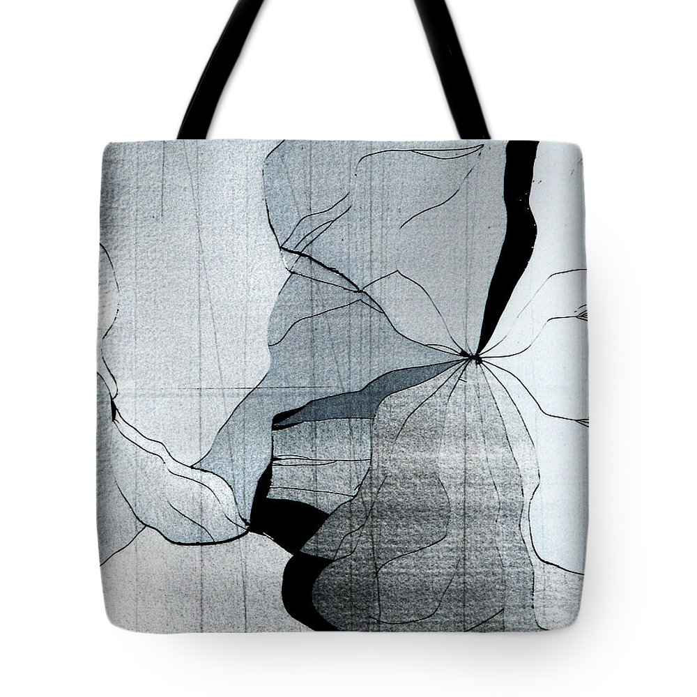 Abstract Tote Bag featuring the photograph Colors Are Bleeding Once Again by Dana DiPasquale