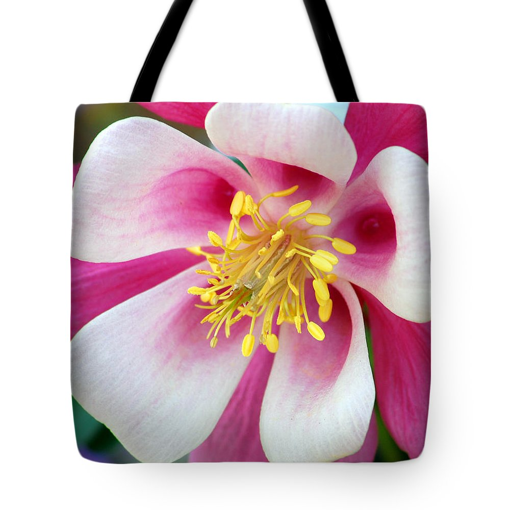 Columbine Tote Bag featuring the photograph Columbine Flower 1 by Amy Fose