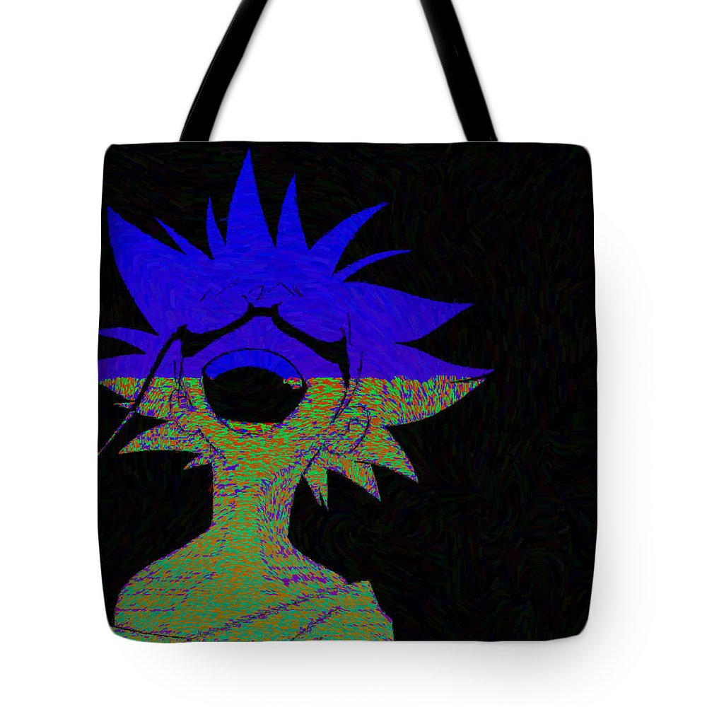 Cowboy Bebop Tote Bag featuring the digital art Cowboy Bebop by Lora Battle