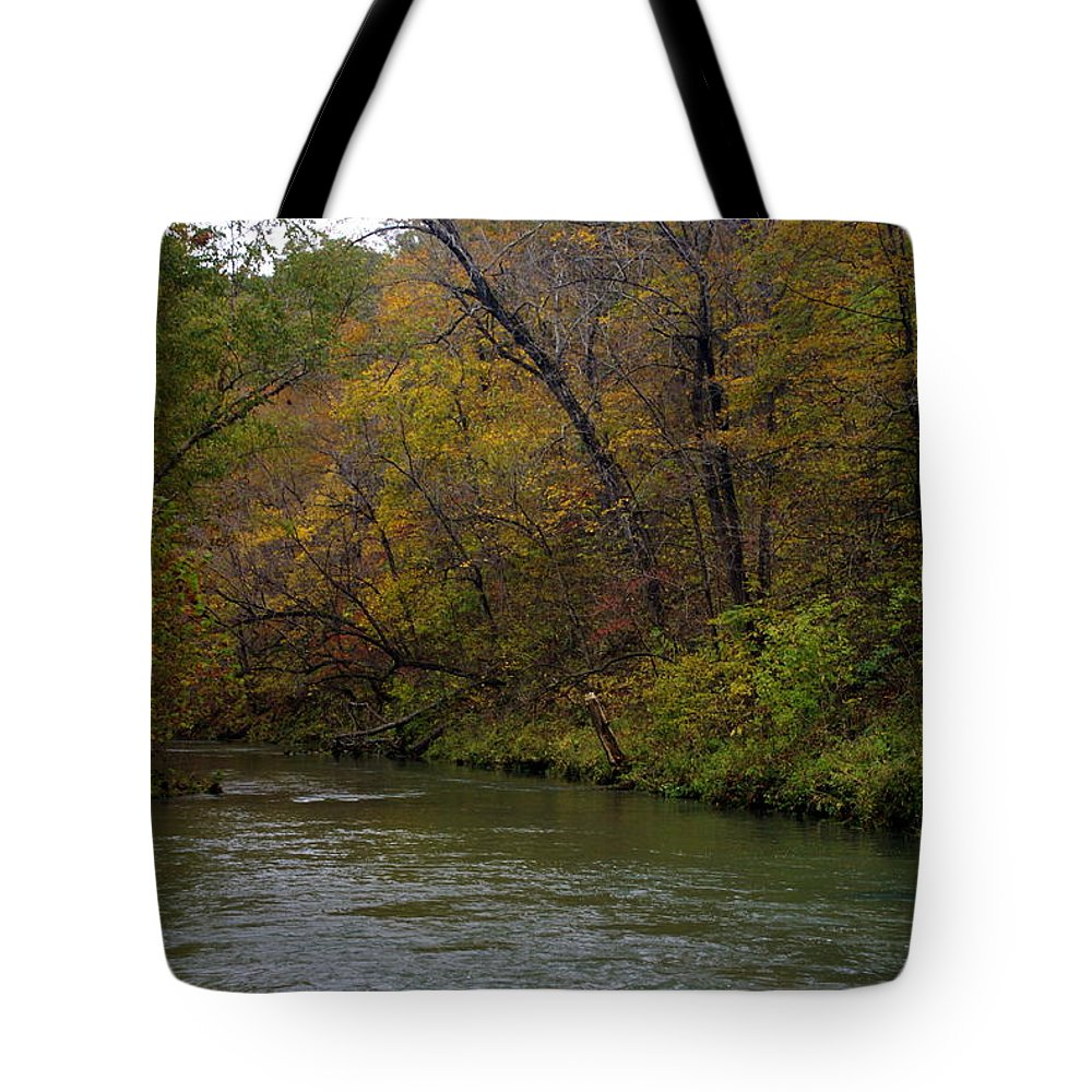 Current River Tote Bag featuring the photograph Current River 8 by Marty Koch