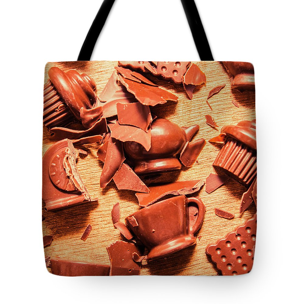 Chocolate Tote Bag featuring the photograph Death By Chocolate 1 by Jorgo Photography - Wall Art Gallery
