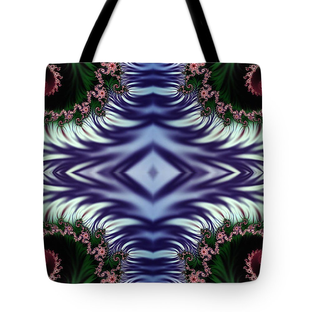 Clay Tote Bag featuring the digital art Diamonds Are Forever by Clayton Bruster