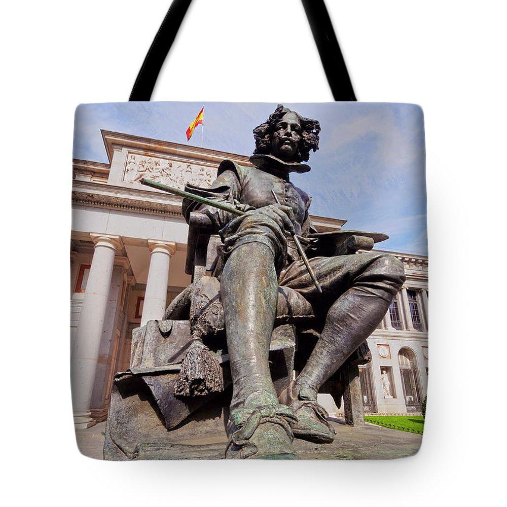 Spain Tote Bag featuring the photograph Diego Velazquez by Karol Kozlowski
