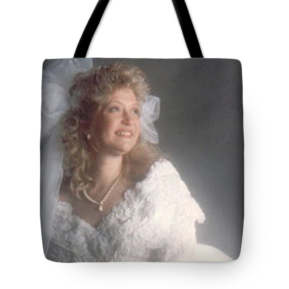 Portrait Tote Bag featuring the photograph Donna by John Graziani