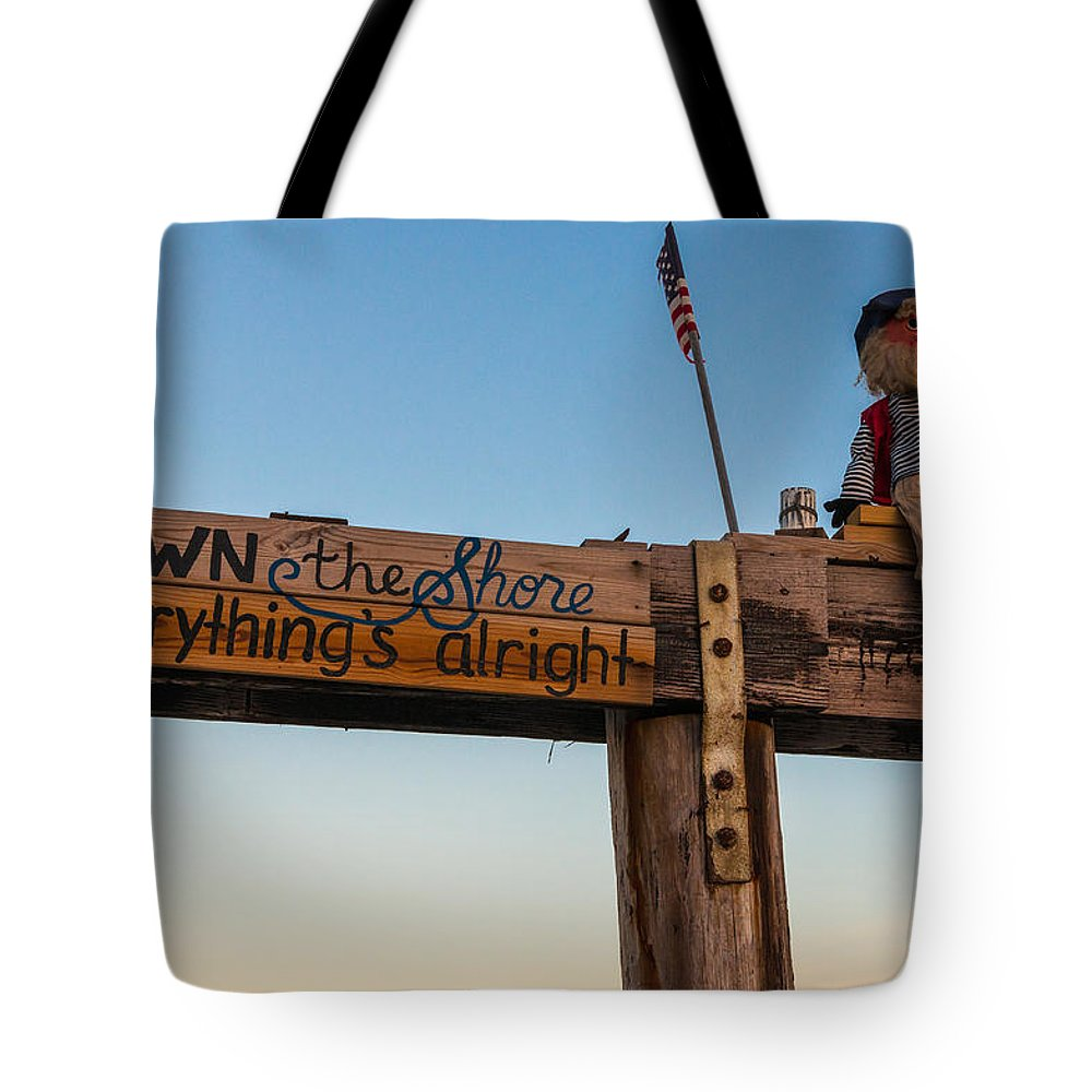 New Jersey Tote Bag featuring the photograph Down the Shore by Kristopher Schoenleber