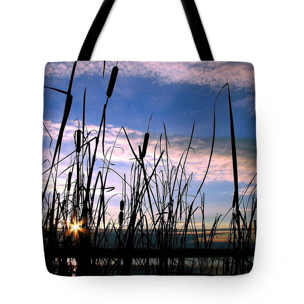 Sunrise Tote Bag featuring the photograph Dreams by Mitch Cat