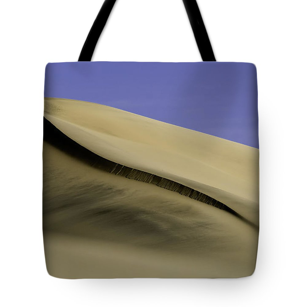 Death Valley Tote Bag featuring the photograph Dunes One by Paul Basile