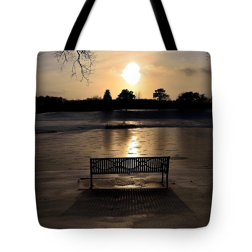 Landscape Tote Bag featuring the photograph Ellis Park - Cedar Rapids, Ia by Sherri Hasley