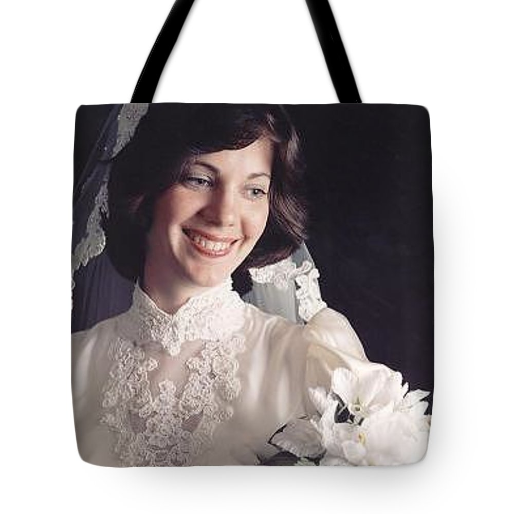 Portrait Tote Bag featuring the photograph Emily by John Graziani