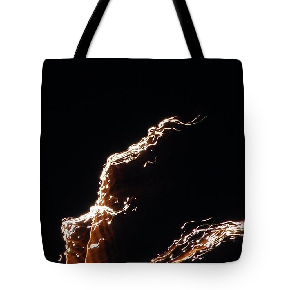 Print Tote Bag featuring the photograph Entering The Twilight Zone by Faba Fouret