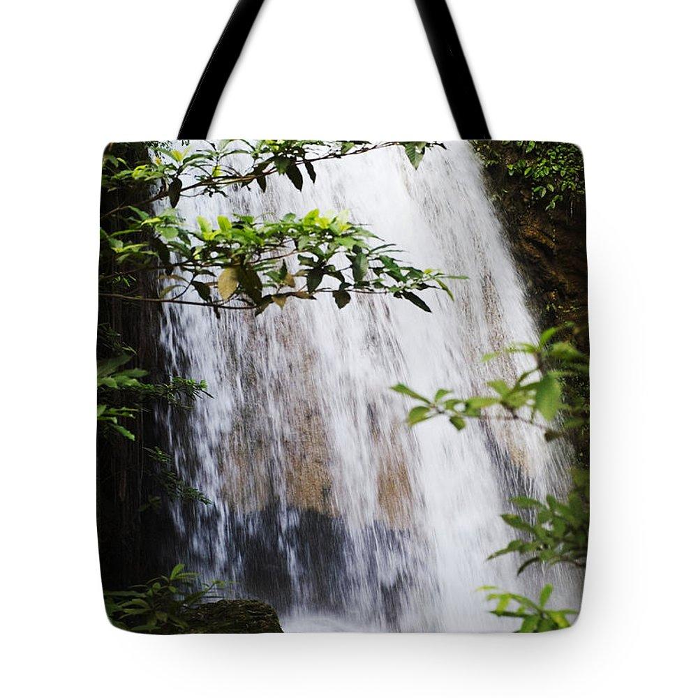 Bill Brennan Tote Bag featuring the photograph Erawan National Park by Bill Brennan - Printscapes