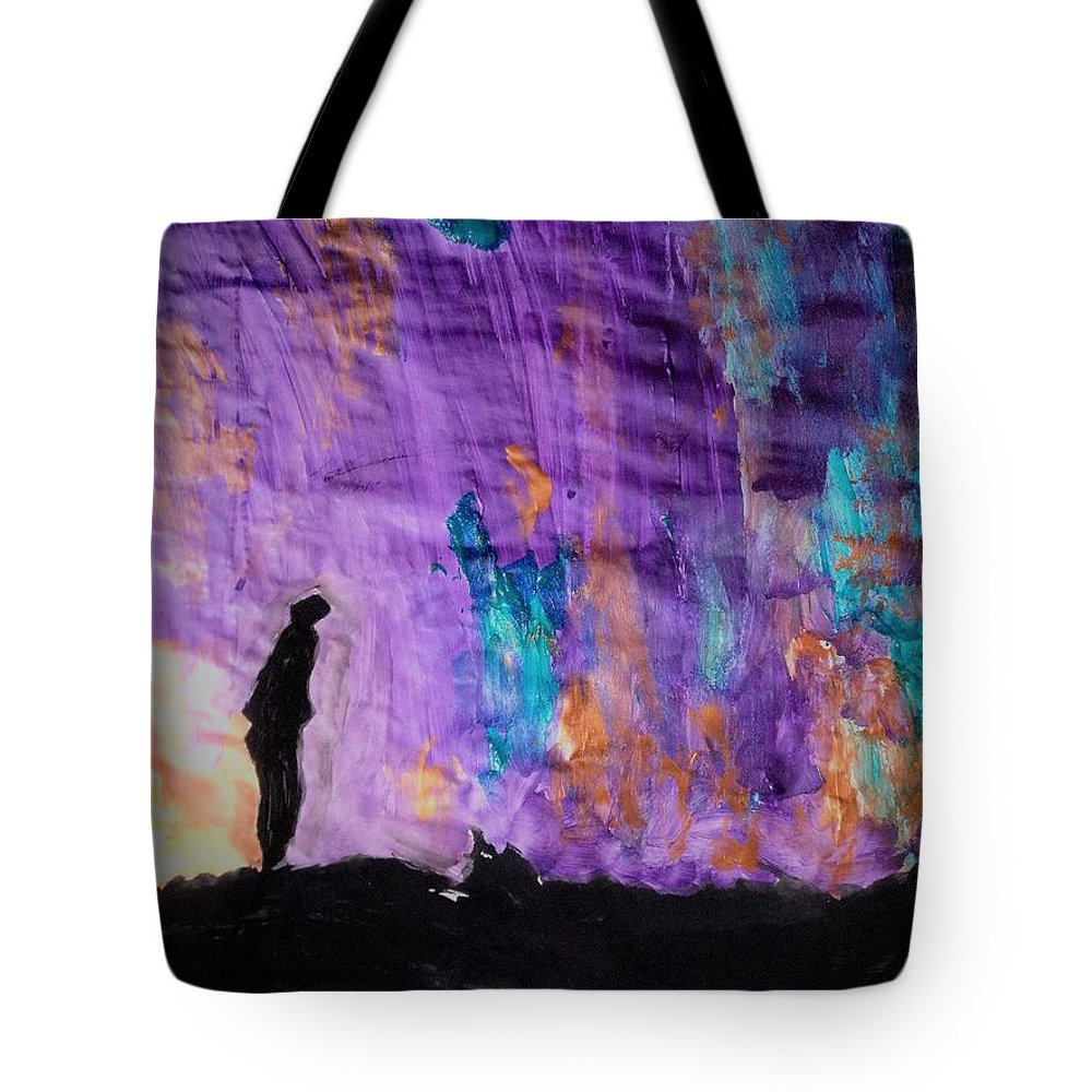 Eternity Tote Bag featuring the painting E.t.e.r.n.i.t.y. by Love Art Wonders By God