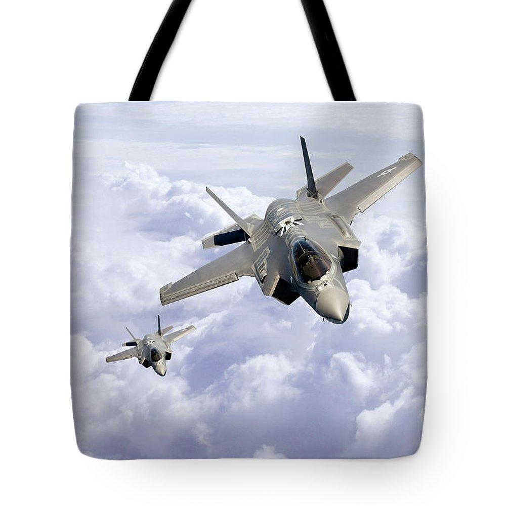 F35 Tote Bags