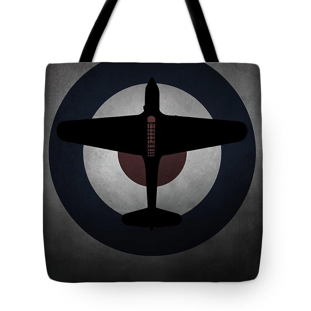 Fairey Tote Bag featuring the digital art Fairey Battle by J Biggadike