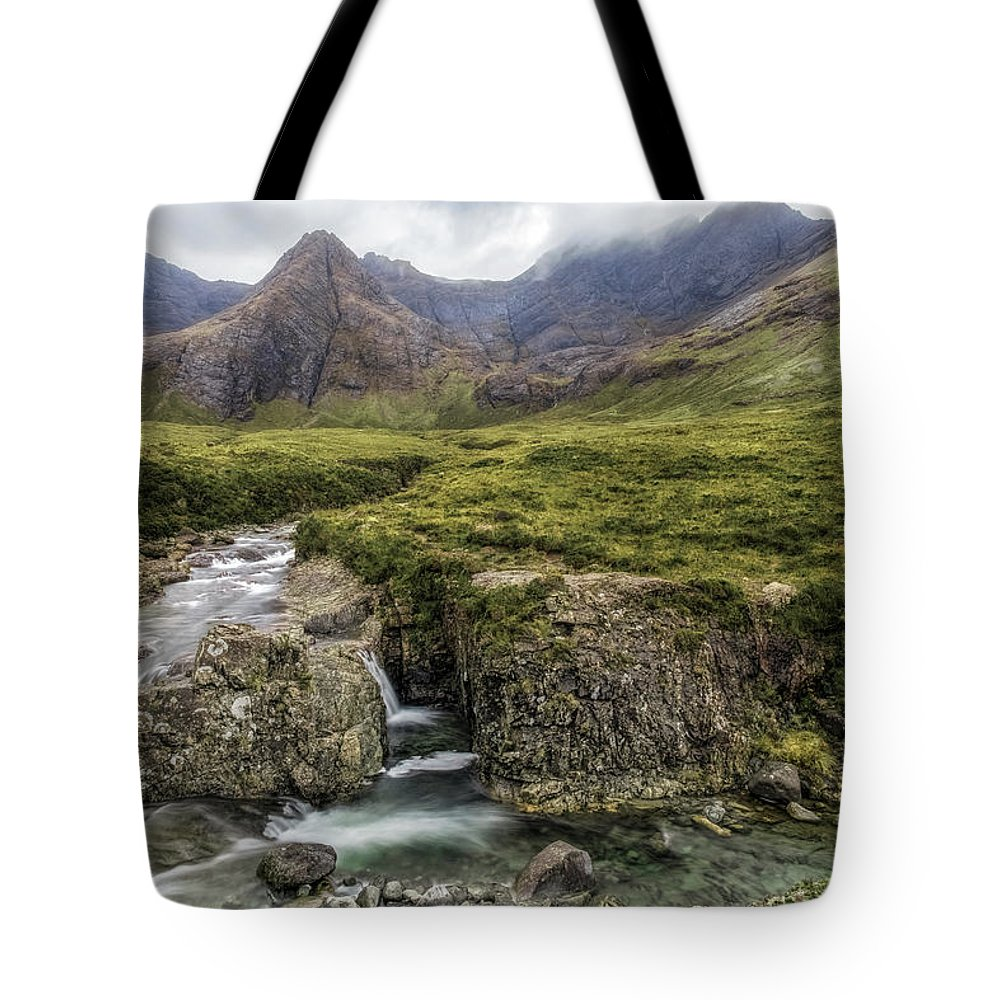 Fairy Pools Tote Bag featuring the photograph Fairy Pools - Isle Of Skye by Joana Kruse