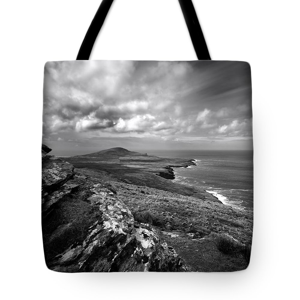 Feaghmaan West Tote Bag featuring the photograph Feaghmaan West by Smart Aviation
