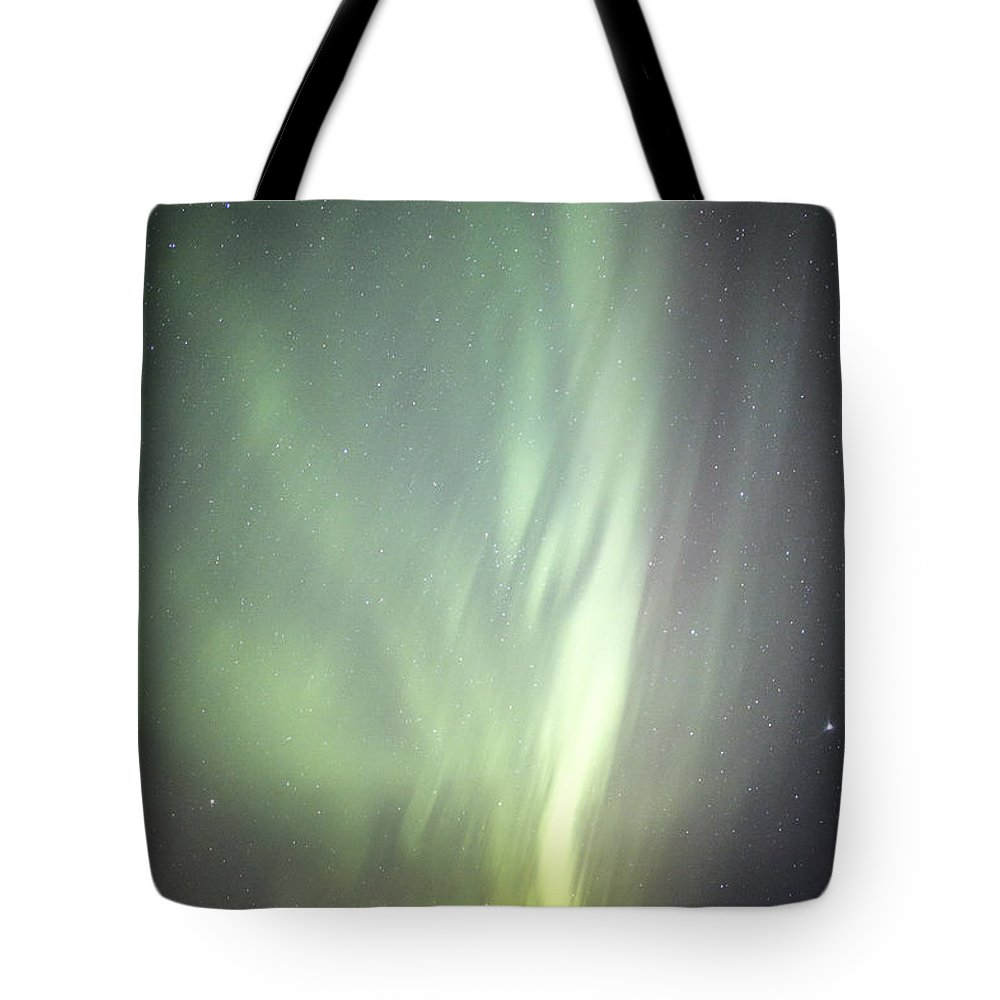 Aurora Tote Bag featuring the photograph Spacial Light by Matt Skinner